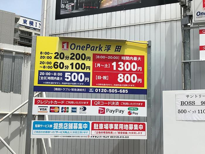 one park浮田